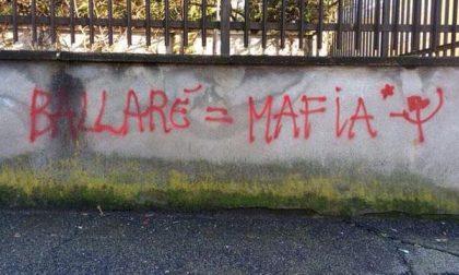 """Appare graffito con la scritta """"Ballarè = mafia"""", solidarietà al sindaco dal Pd"""