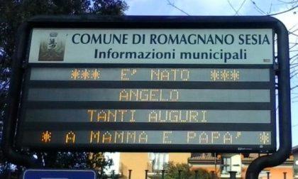 Col 2015 Romagnano Sesia dà il benvenuto ufficiale ai nuovi nati
