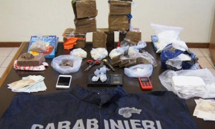 In manette 29enne per detenzione di ingente quantitativo di droga