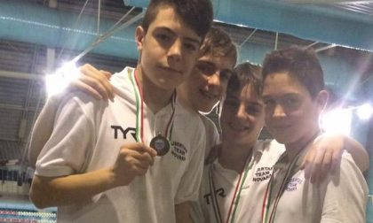 Nuoto: gli Esordienti A della Libertas Team Novara sugli allori al Gran Prix di St. Vincent