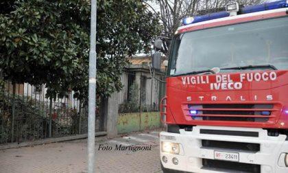 Principio d'incendio in una palazzina di corso Trieste