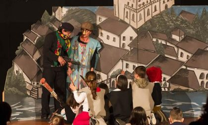 Bambini spettatori e attori all'Attico delle Arti
