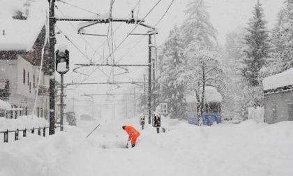 "La nevicata manda in ""tilt"" Ossola, Verbano e Aronese (FOTOGALLERY)"