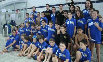 Novara Nuoto 2000 sugli scudi a Brembate di Sopra