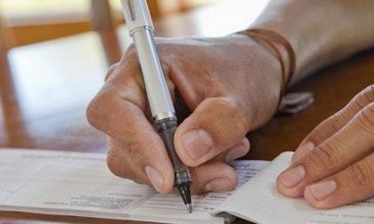 Pagò con un assegno non valido: giovane condannata a 3 mesi