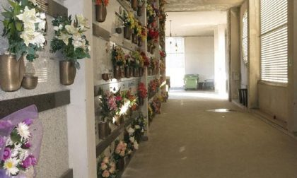 Riaperta alle visite una parte del V recinto del cimitero