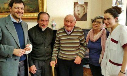 Traguardo record per un ospite della Casa di riposo San Francesco: compie 107 anni