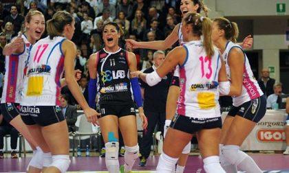 Volley, in Coppa Italia tutto facile per la Igor Novara