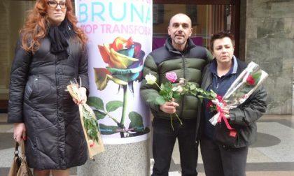 Brunella ricordata a 3 anni dalla sua morte con un flash mob in centro