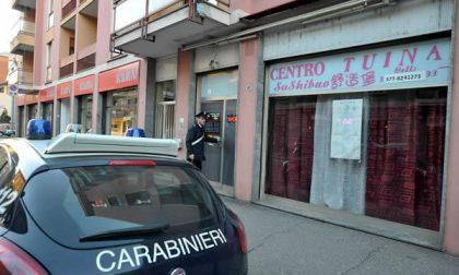 Carabinieri chiudono altro centro massaggi cinese