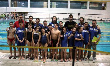 Gara Uisp di nuoto alla piscina del Terdoppio: i risultati della Novara Nuoto 2000