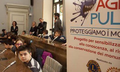 """Gli alunni della scuola Bollini diventano """"Agenti pulenti"""""""