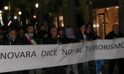 Novara dice no al terrorismo