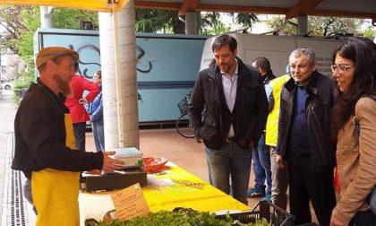 Il sindaco al mercato di Campagna Amica