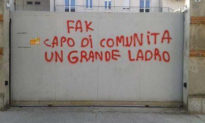 Vandalismo alla Comunità per minori Santa Lucia
