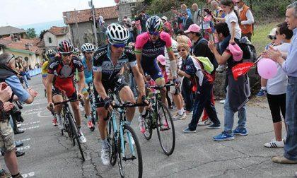 Il Giro d'Italia sulle strade novaresi e del Vco