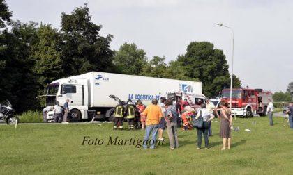 Due feriti per un incidente a S. Pietro Mosezzo