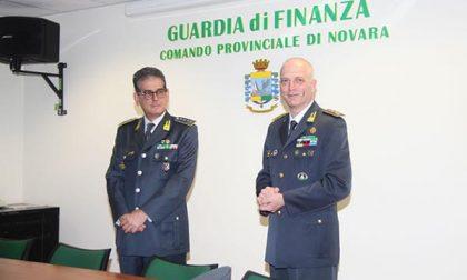 In visita a Novara il generale Carta, comandante interregionale della Gdf