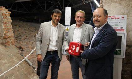 """""""Novara ci sta a cuore"""": posizionati 15 defibrillatori"""