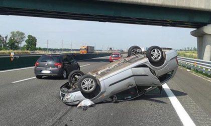Tre feriti in un incidente in A4