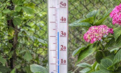 A Novara prima decade di luglio con una media giornaliera di 28°