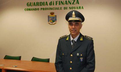 Arriva alla finanza novarese un nuovo ufficiale: è Massimo Chiappara