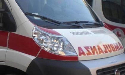 Comignago: incidente auto contro moto