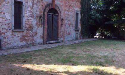 Detenuti all'opera a Villa Segù di Olengo (FOTOGALLERY)