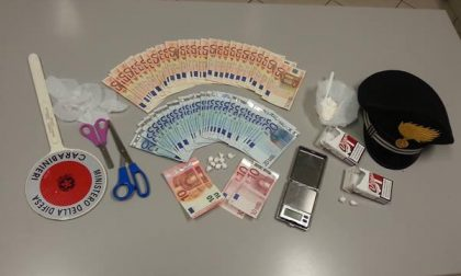 I carabinieri di Galliate arrestano un 33enne per droga