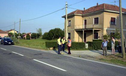 Incidente in frazione Fornaci a Oleggio