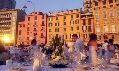 La cena in bianco arriva a Novara