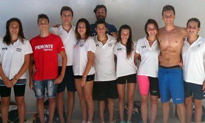 Nuoto: sette podi per la Libertas Team Novara