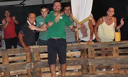 Palio dei rioni a Nibbia: festa verde per i vincitori dell'Angul di scoli (FOTOGALLERY)