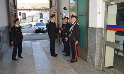 In visita a Novara il generale di Corpo d'Armata, Vincenzo Coppola