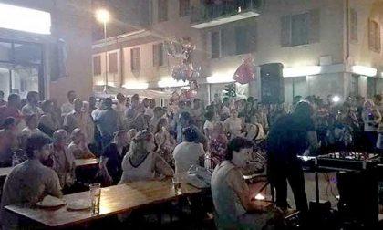 Notturno di corso Trieste: molti i visitatori