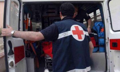 40enne di Angera in ospedale dopo un sinistro a Dormelletto