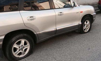 Ancora un vandalismo all'auto del consigliere comunale Negri