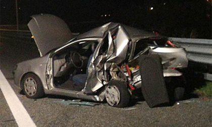 Biandrate: incidente in A26