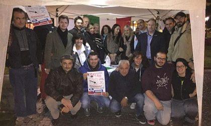 Bilancio positivo per il primo gazebo notturno di presidio del territorio