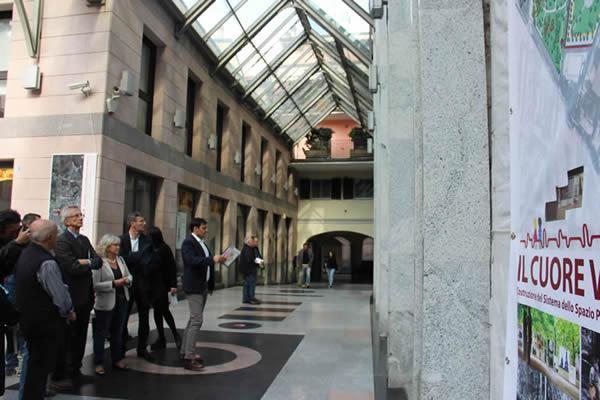 Inaugurata La Mostra La Città Futura Corriere Di Novara