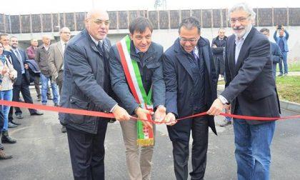 Inaugurata la seconda isola ecologica di Novara