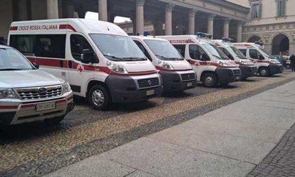 La Cri di Arona inaugura una nuova ambulanza