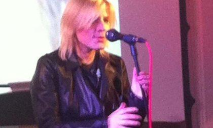 La cantante Laura Bono a Stresa
