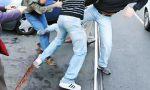 Maxi rissa in piazza Martiri a Novara: misure cautelari per i responsabili