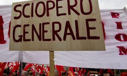 Proclamato sciopero generale dal 15 al 20 ottobre