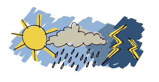 Previsioni meteo per il weekend: da domenica neve