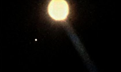 Un ufo nei cieli del borgomanerese?