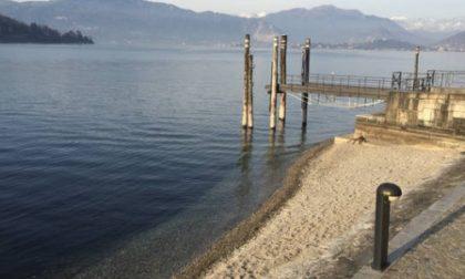 """Lago Maggiore """"a secco"""": deflusso d'acqua 4 volte maggiore rispetto all'afflusso"""