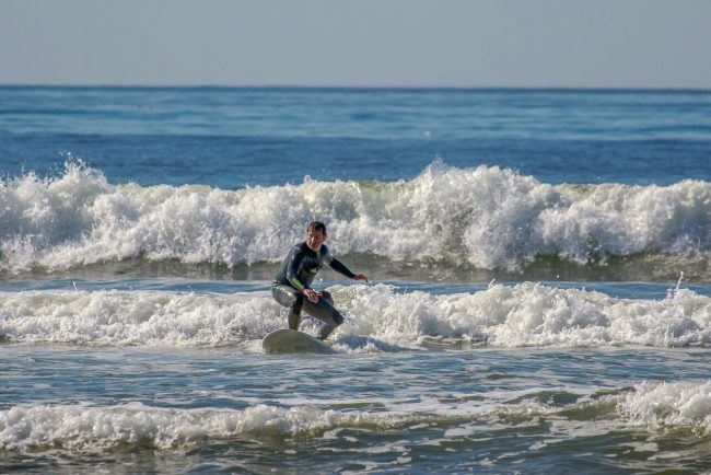 Matteo Fanchini in California per i Mondiali di Surf adattato