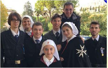 Volontari aronesi a Loreto